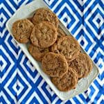Chocolate Hazelnut Cookies #Choctoberfest