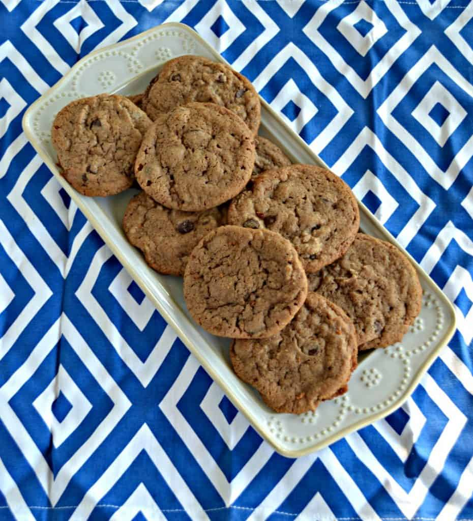 Chocolate Hazelnut Cookies are rich and tasty.