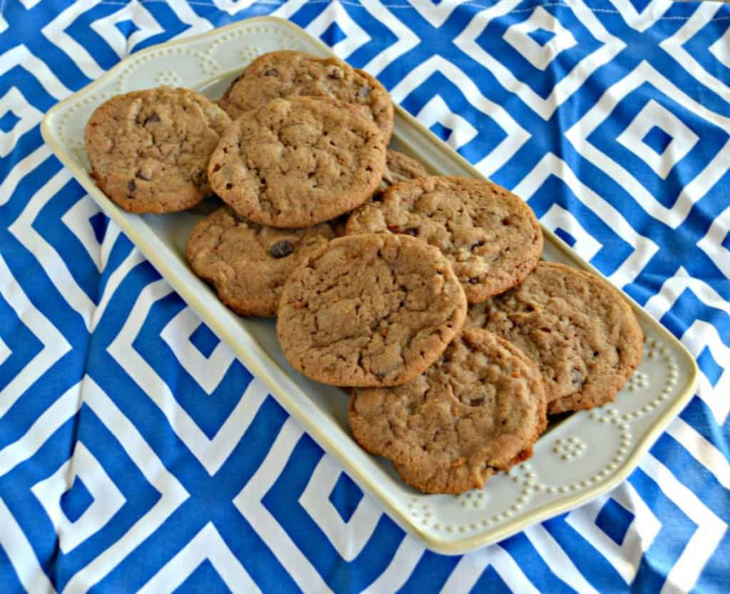 Grab one (or two!) of these decadent Chocolate Hazelnut Cookies