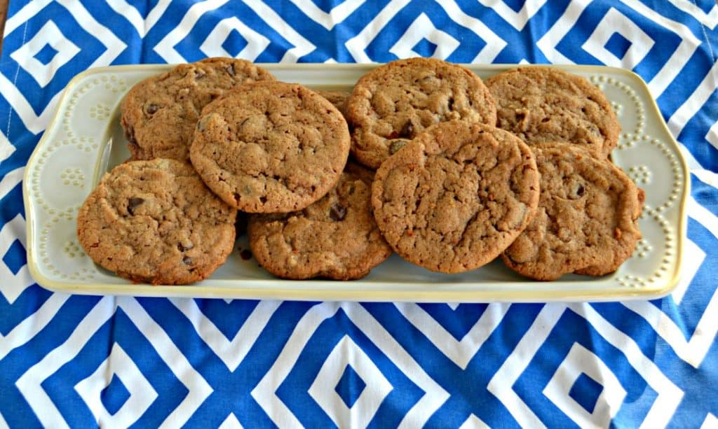 Grab a glass of milk and one of these Chocolate Hazelnut Cookies for a snack