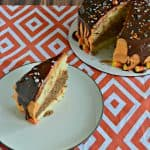 Want a fabulous Halloween treat? Check out my orange and chocolate Halloween Layer Cake