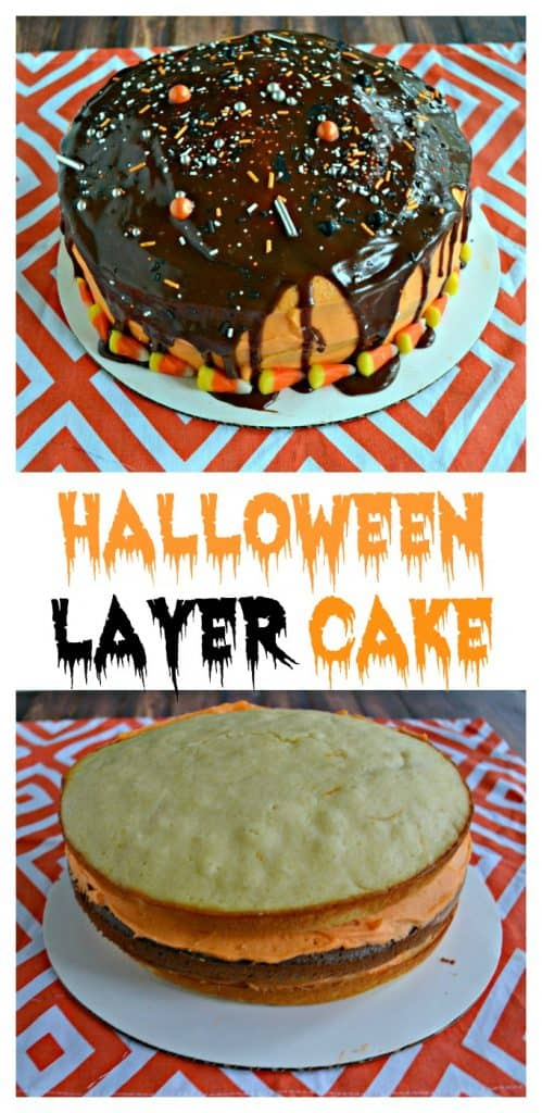 Making a Halloween Layer Cake is easier then you think!