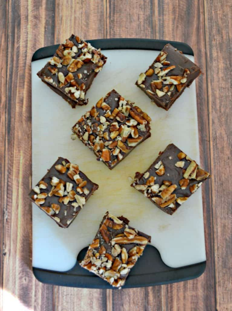 I can't get enough of this easy Maple Fudge with nuts!