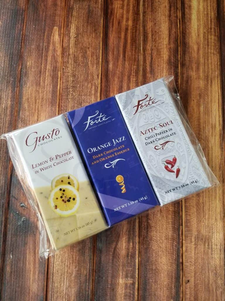 Delicious Chocolate Bars from Forte Chocolates