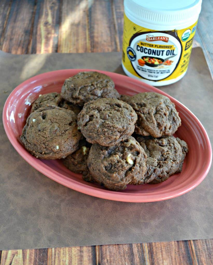 I can't get enough of these Triple Chocolate Chip Cookies!