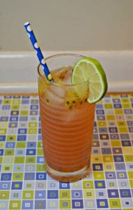 Blood Orange Passion Fruit Mule