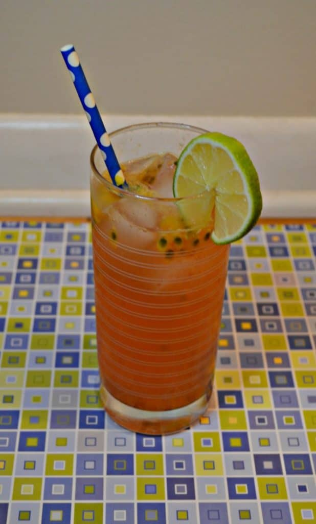It's cocktail time so grab a glass and enjoy a Blood Orange Mule!