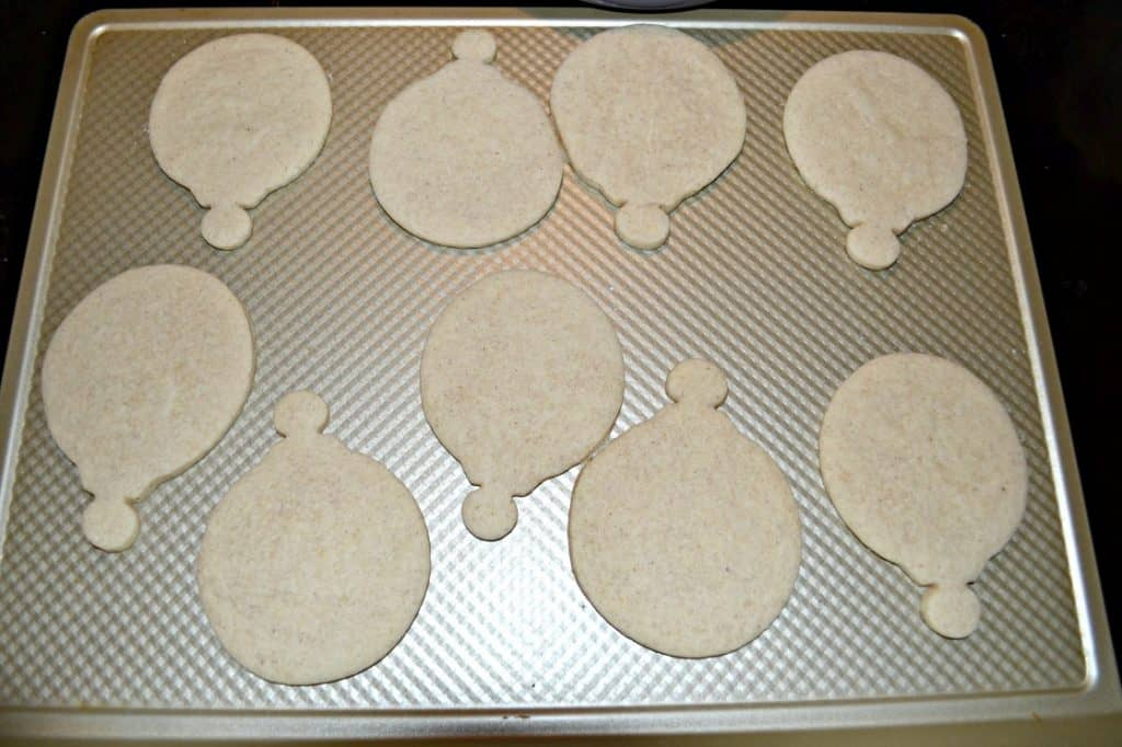 Bake up these fun Ornament Cinnamon Spice Sugar Cookies