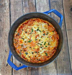 Swiss Diamond Casserole holds this quick and easy One Pot Lasagna