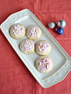 Peppermint Meltaway Cookies