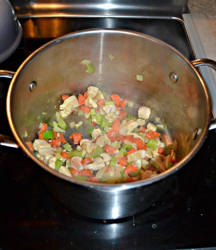 Make a big pot of Lemony Greek Chicken Soup for dinner