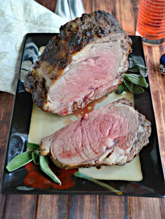 Grab a knife and fork and dig into this amazing Lemon Dijon Beef Roast!