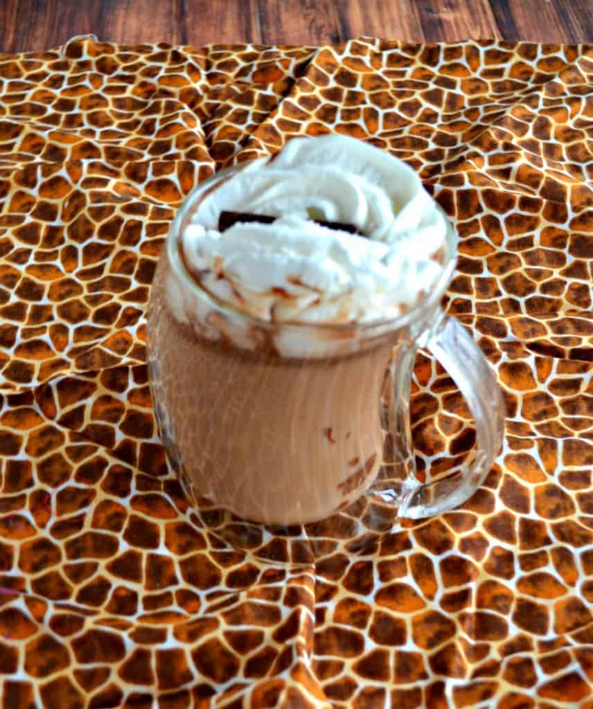 Warm up with this Salted Nutella Latte