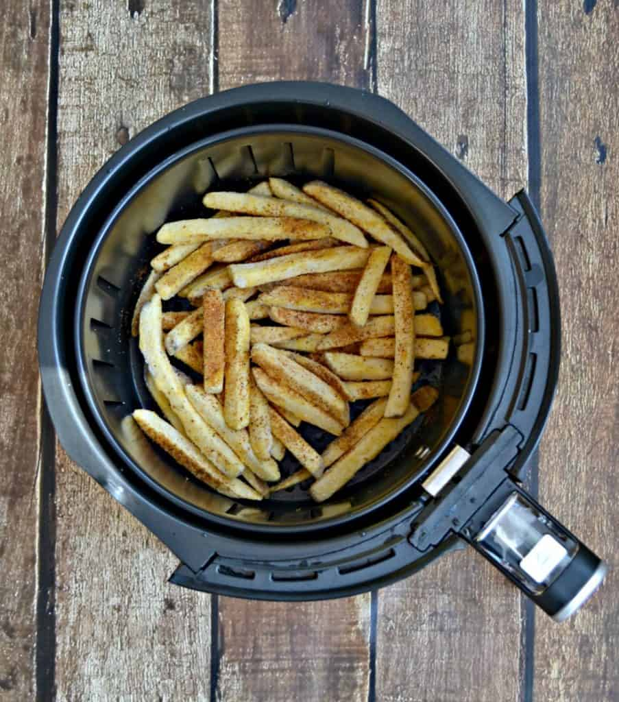 Old Bay French Fries in the Air Fryer!