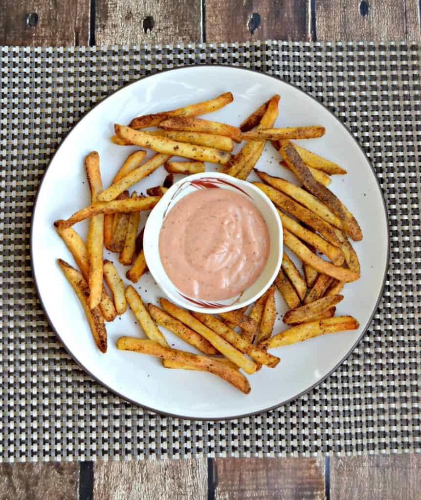 Give these Air Fryer Old Bay French Fries a try tonight!