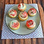 Vanilla Cupcakes with Peppermint Swirl Frosting + a Giveaway