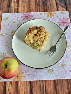 Grab a fork and dig into this Apple Coffee Cake!