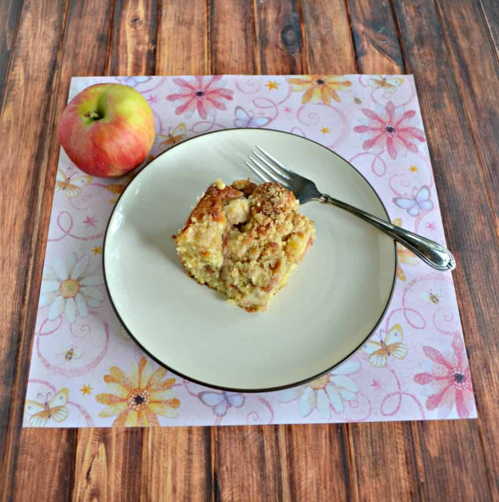 Grab a cup of coffee and enjoy it with this Apple Coffee Cake