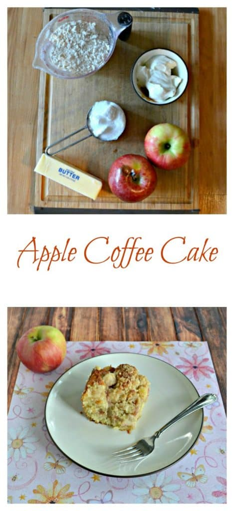 Everything you need to make a delicious Apple Coffee Cake