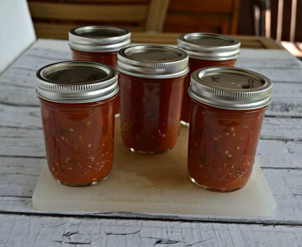 Canning Hot Sauce