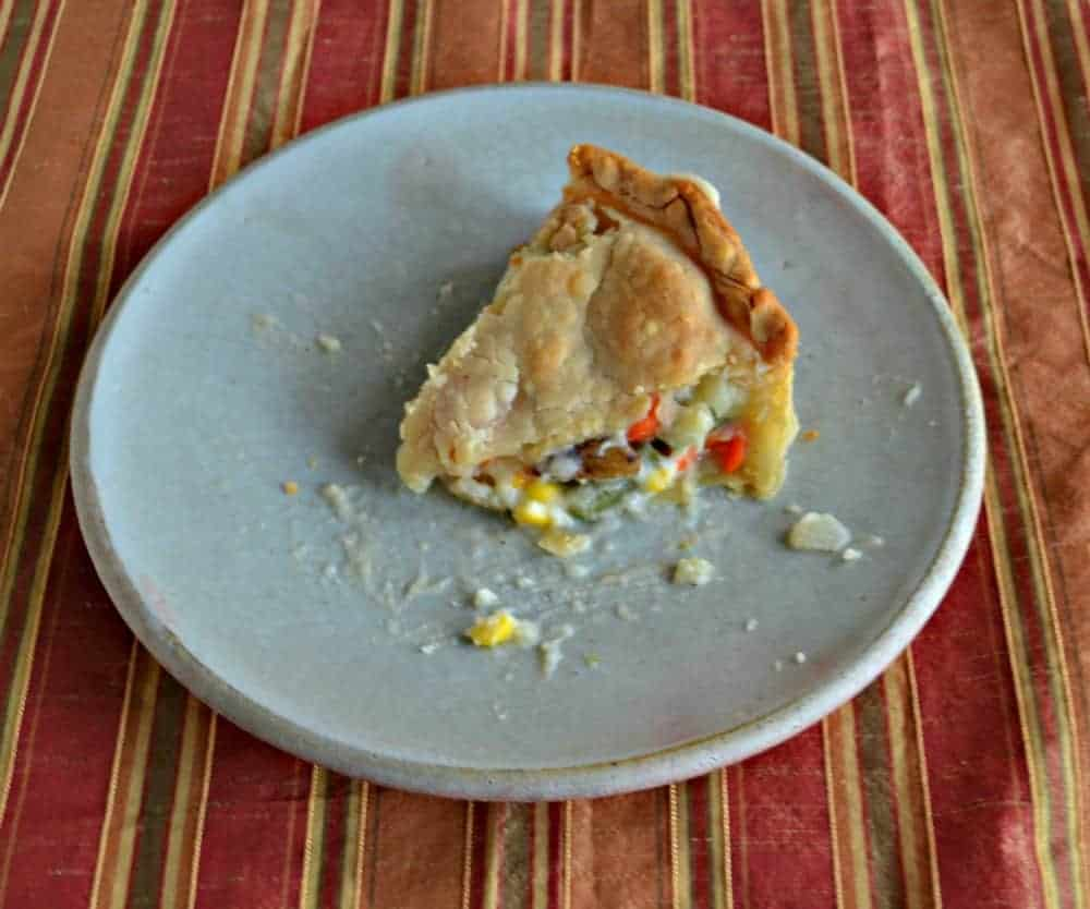 Chicken Pot Pie Freezer Meal