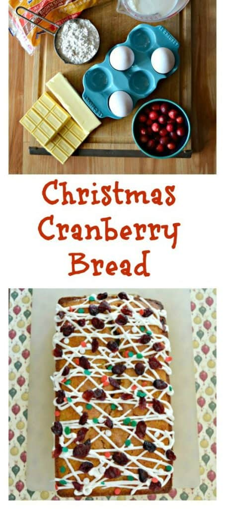 I can't get enough of this delicious Christmas Cranberry Bread for a holiday breakfast!