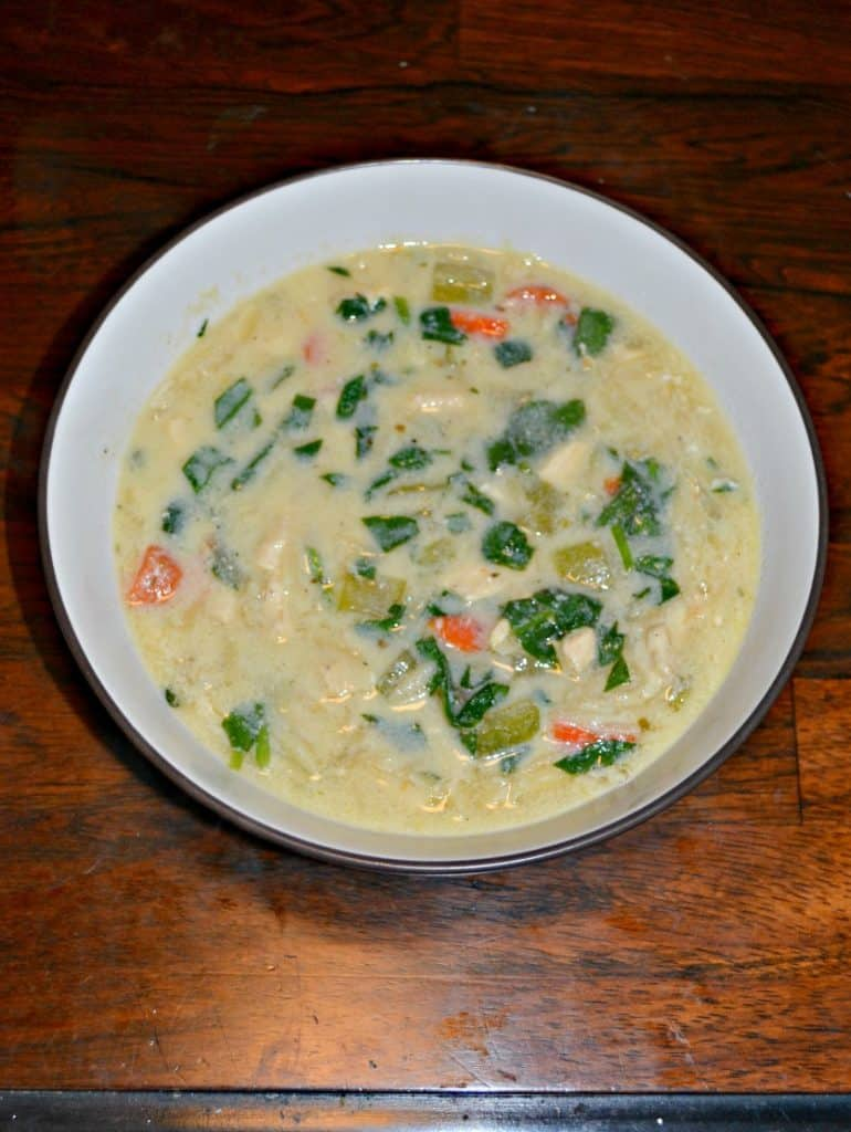 Looking for a bright and velevety soup? Check out my Lemony Greek Chicken Soup!