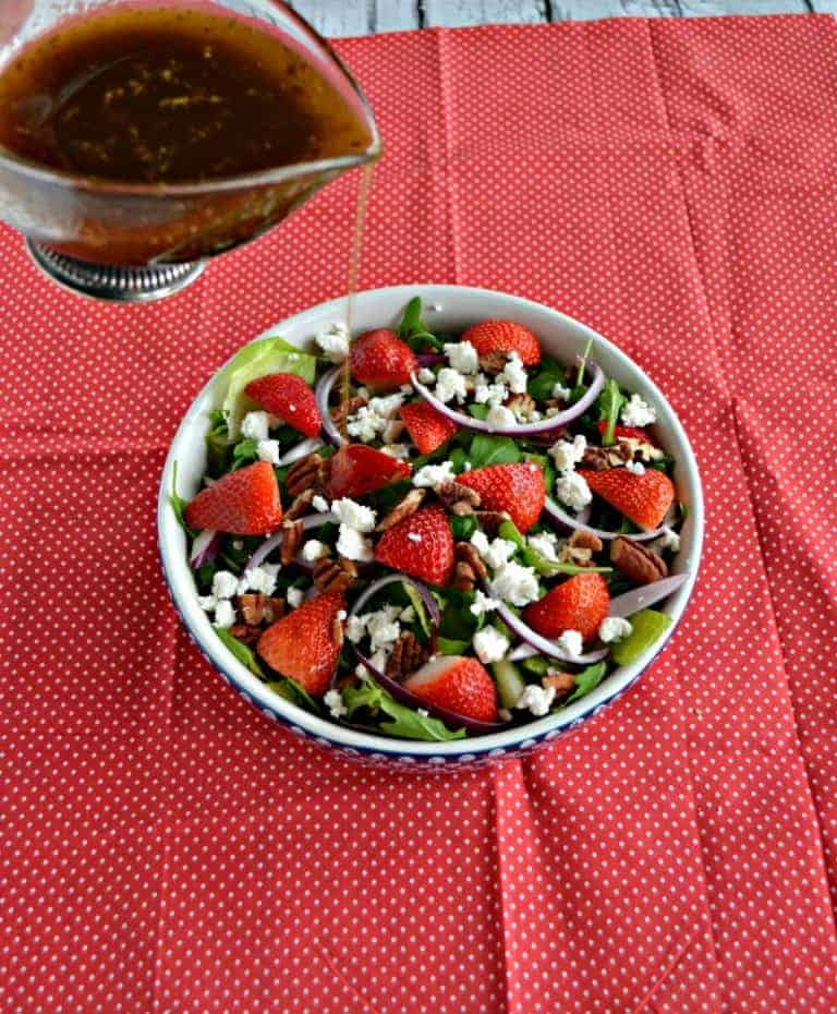 Add fish oil or flax oil to your salad dressing