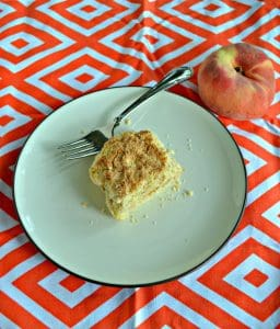 Dig into these juicy Peach Crumble Bars