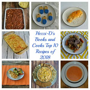 Hezzi-D's Books and Cooks Top 10 Recipes of 2018