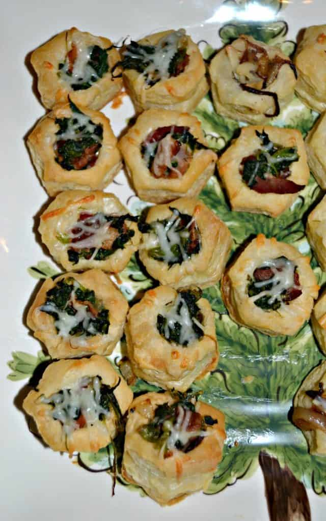 Bacon Swiss Cups are a tasty and easy to make appetizer.