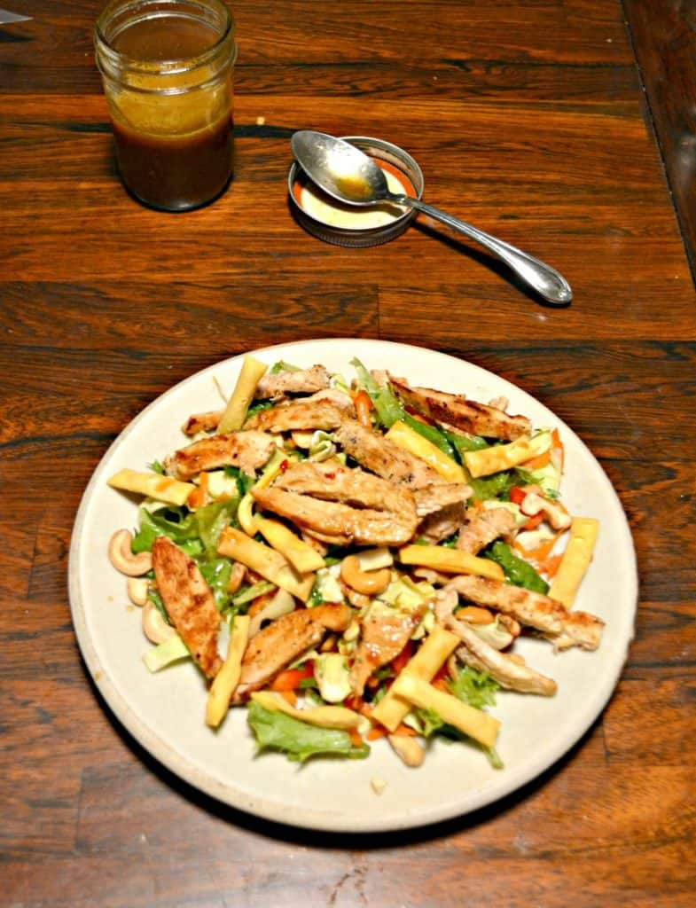 Looking for a healthy entree salad? Try this delicious Thai Chicken Salad