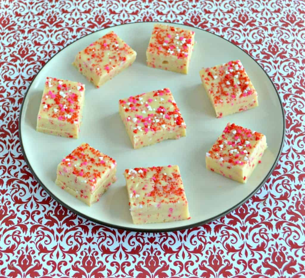 Cake Batter Fudge is an easy and delicious dessert!