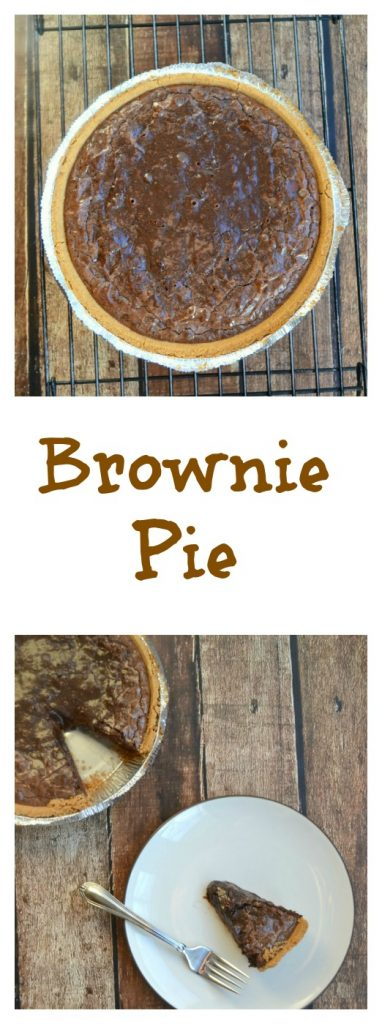 You'll want to make more than one of these Brownie Pies!