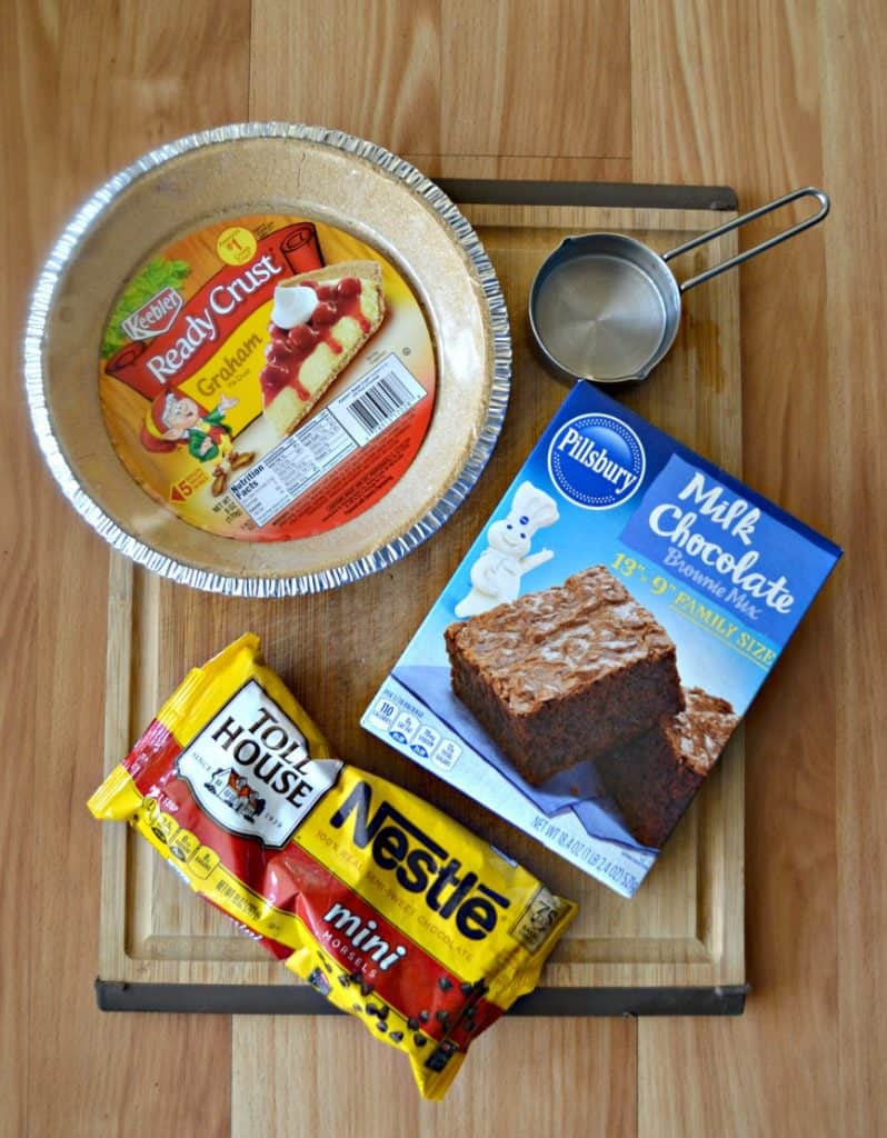 It's easy to make Brownie Pie
