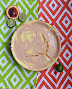 Blood Orange Margarita Cheesecake #SpringSweetsWeek