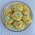 These Easter M&M's Cookies are fun and easy to make!