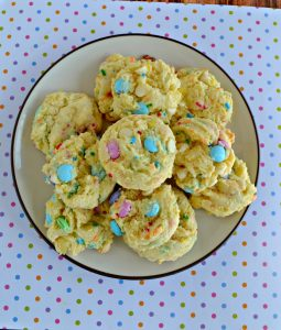 Easter M&M's Cookies