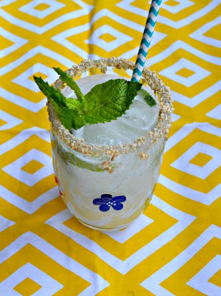 I can't get enough of this Key Lime Pie Mojito