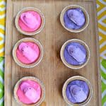 Whip up a batch of these super cute Pastel PEEPS Mini Pudding Pies for Easter!