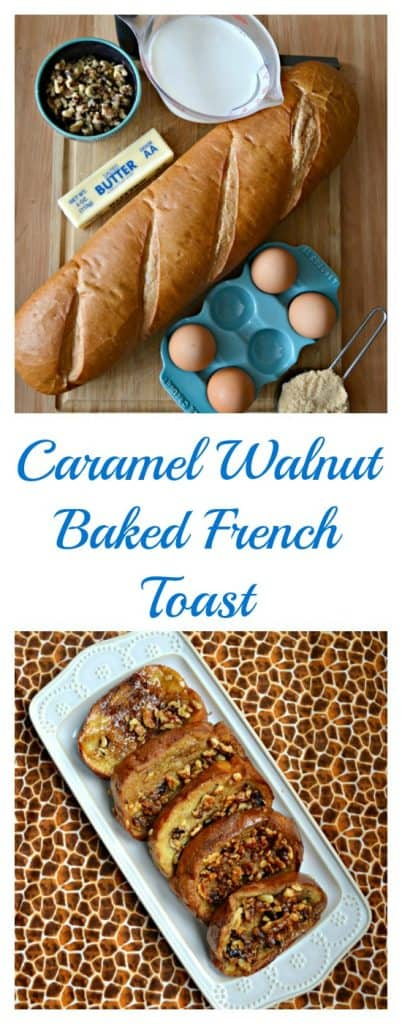 Caramel Walnut Baked French Toast