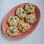 Carrot Cake Bird's Nest Cookies #SpringSweetsWeek