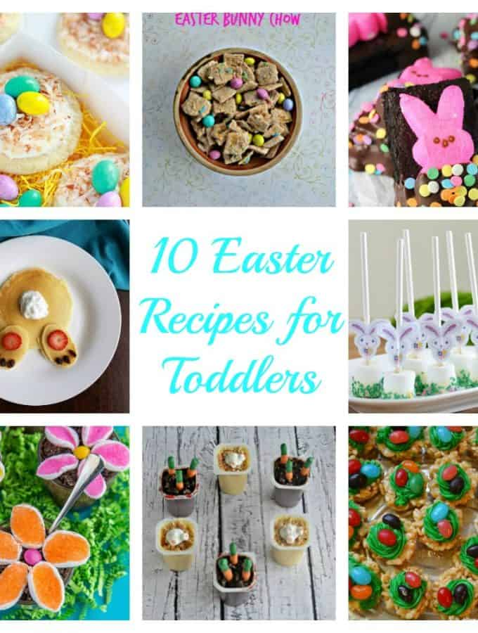 10 Easter Recipes for Toddlers