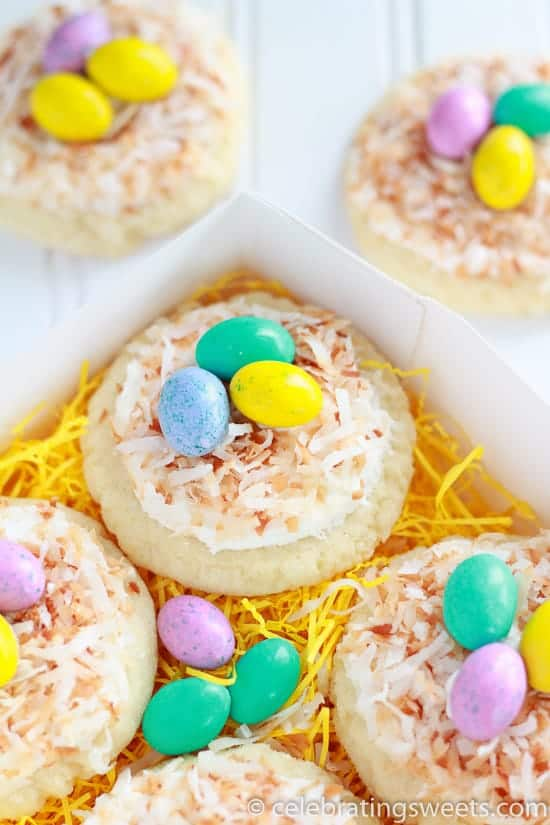 Sugar Cookie Birds Nest
