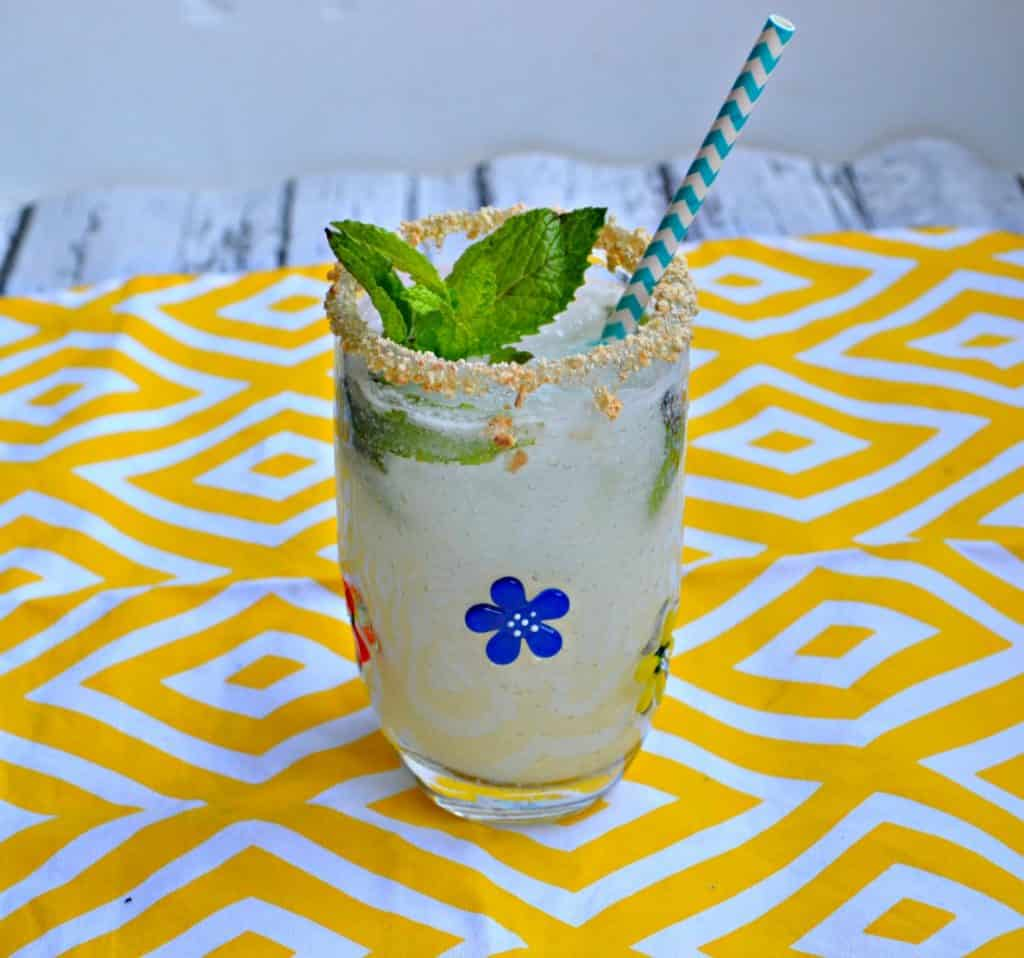 This Key Lime Pie Mojito will hit the spot!