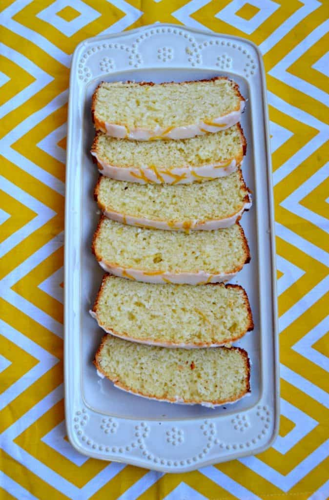 Need a tasty spring snack? Enjoy this Copycat Starbucks Lemon Loaf with a cup of coffee or tea!