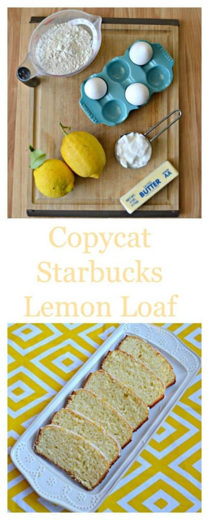 Everything you need to make Copycat Starbucks Lemon Loaf