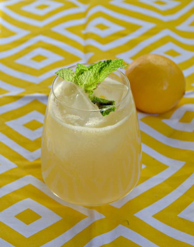 Make a batch of these Meyer Lemon Margaritas for brunch!
