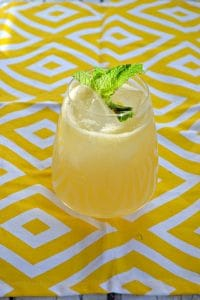 Meyer Lemon Margarita #BrunchWeek