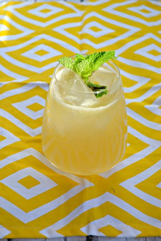 Sip on a Meyer Lemon Margarita for brunch!